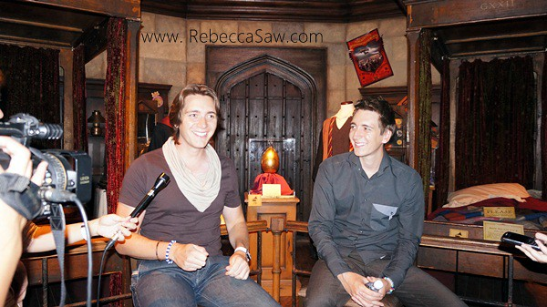 Oliver Phelps & James Phelps - harry potter singapore