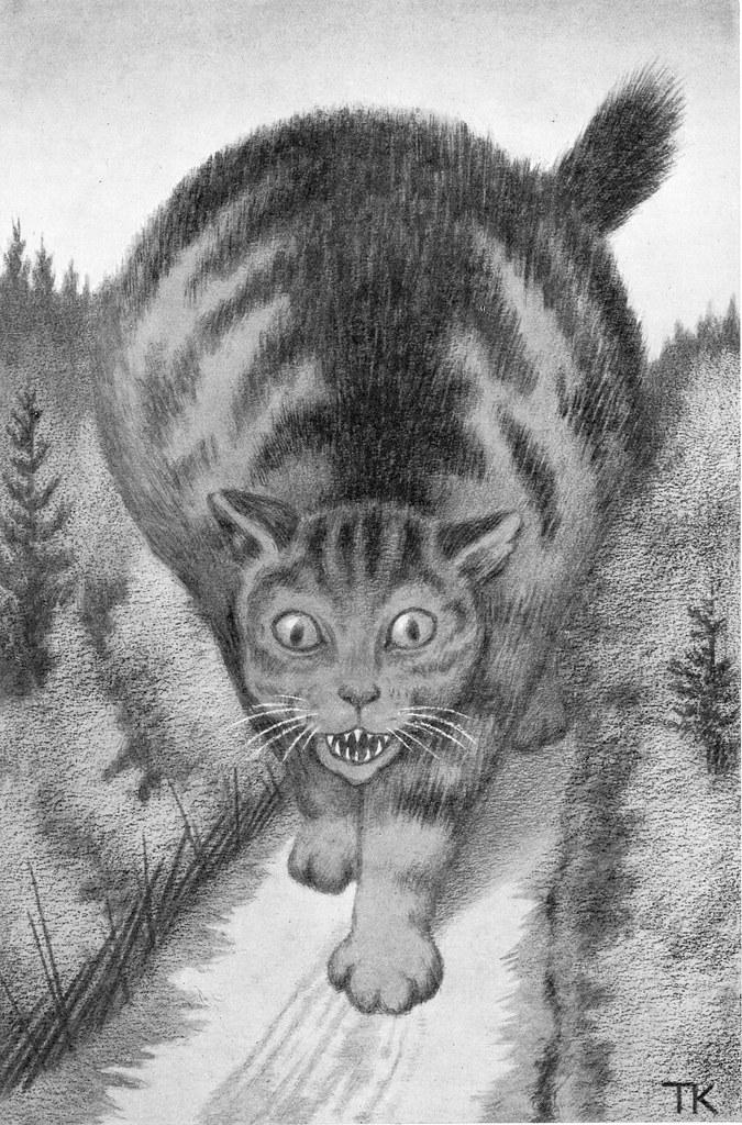 Theodor Kittelsen - Kjetta_som var så fæl til å ete, 1907