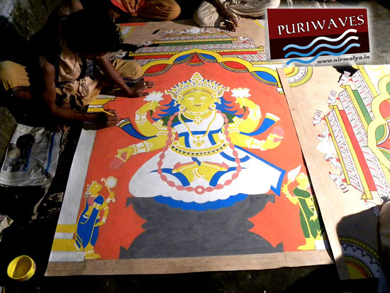 Making of Pati Thakura