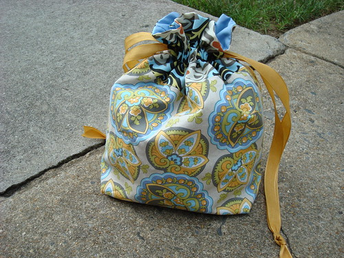 Drawstring bag - cool or ugly?