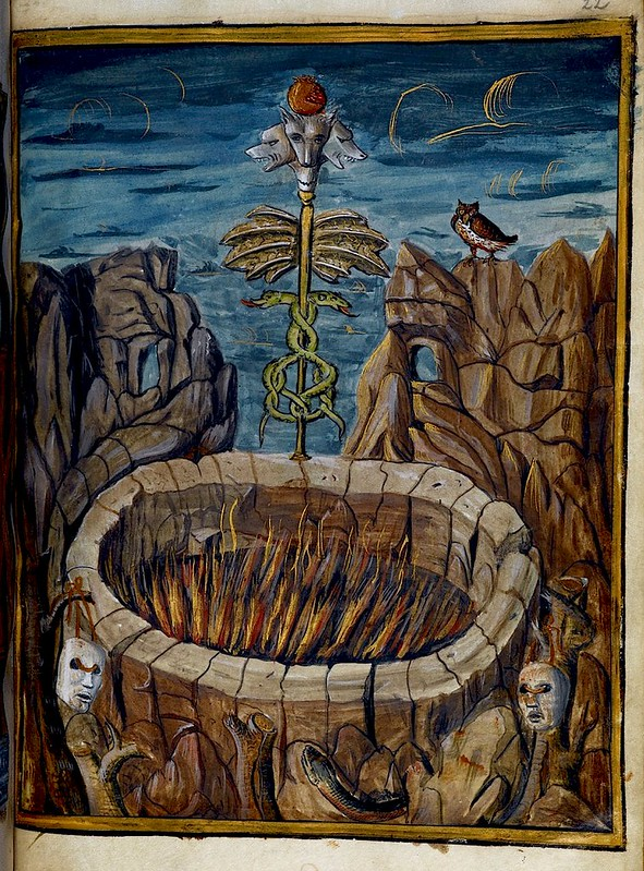 Hellscape. miniature. France c.1507. Royal 12 BL
