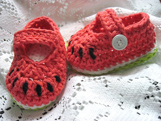 bABy waTErmELoN sHoES