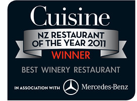 Cuisine Restaurant of the Year 2011
