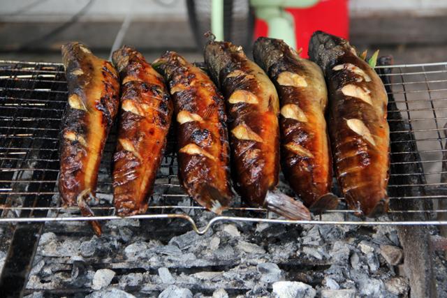 Pla Duk Yang (Grilled Catfish) ปลาดุกย่าง