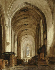 <p>Jacobikerk interieur 1856. Coll. Het Utrechts Archief.</p>