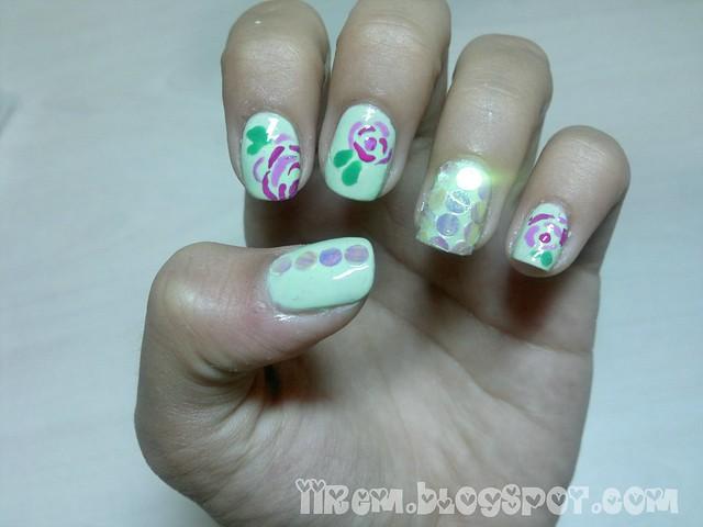 Çiçekli Tırnaklar (3)