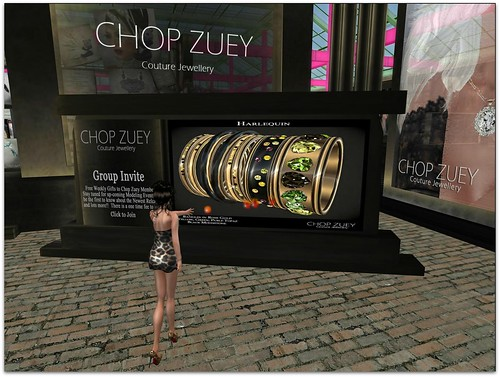 Chop Zuey Gift - Harlequin Bangles_001 by Cherokeeh Asteria