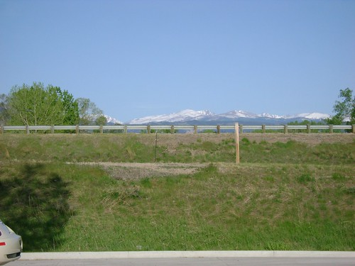 First Glimpse of the Mountains