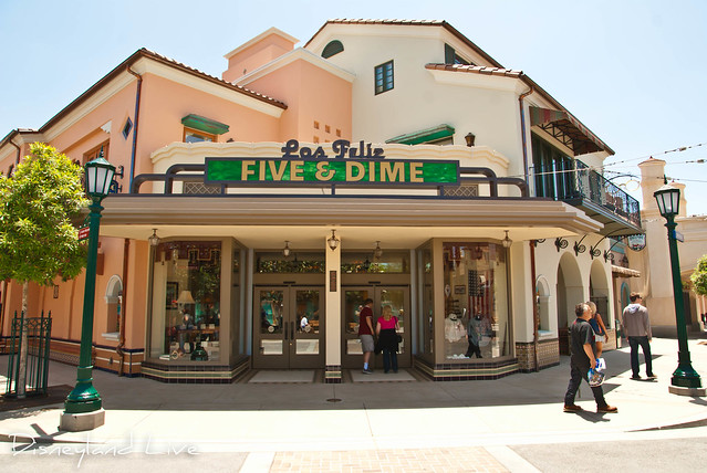Buena Vista Street - Five and Dime