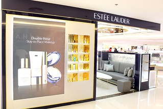 Estee Lauder Beauty Counter at Rustan's Shangri-la Mall