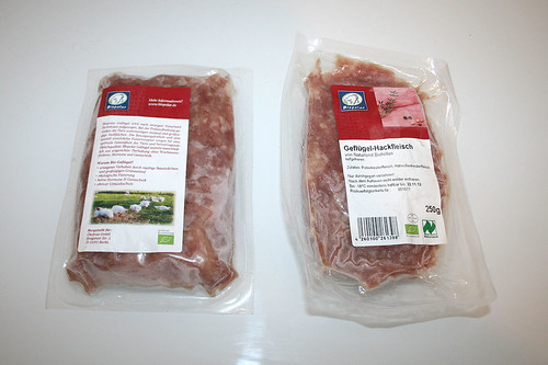 12 - Putenhack gefroren / Deep frozen turkey ground meat