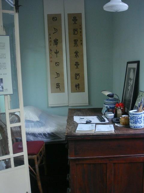 16 拍歪了~ = = 丰子恺蜗居的日月楼,文革中在这里最后完成弘一法师的《护生画集》