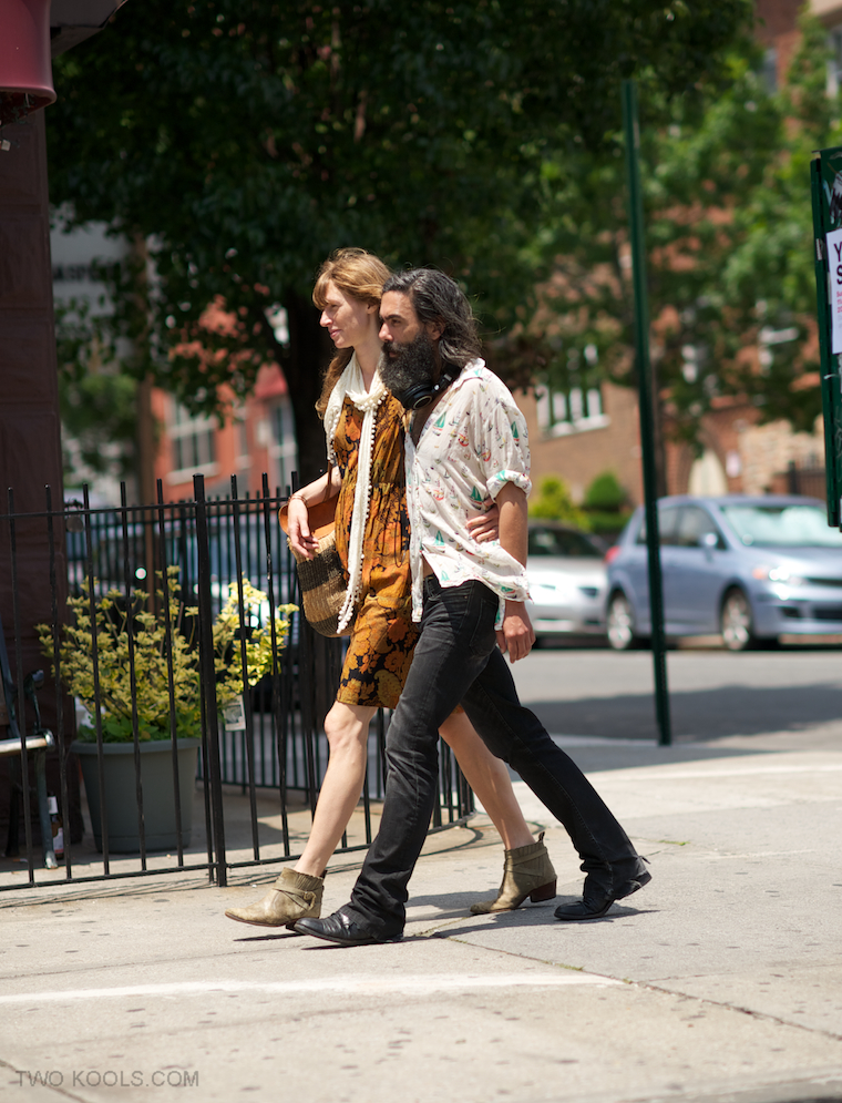 stylish couples in new york