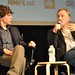 Small photo of Jesse Eisenberg and David Fincher