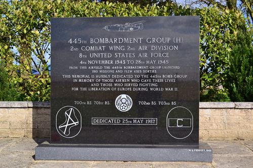 RAF Tibenham memorial