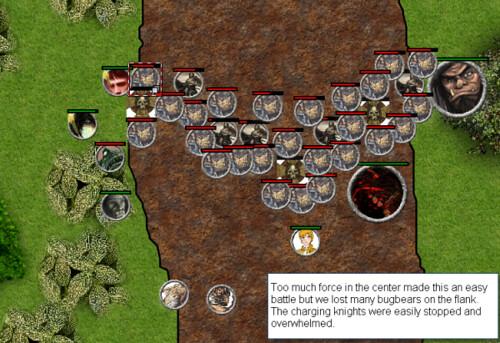 Charging Knights