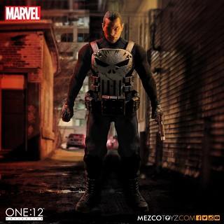 MEZCO – ONE:12 COLLECTIVE 系列【制裁者】MARVEL Punisher