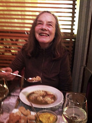 Lindsey at soup