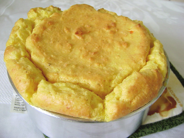 Soufflé de queijo