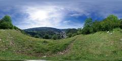 Bois des Crottes - View on Morez