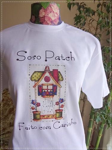 Camiseta para a Soso Patch  by Pura Ideia Etiquetas de Tecido e Afins