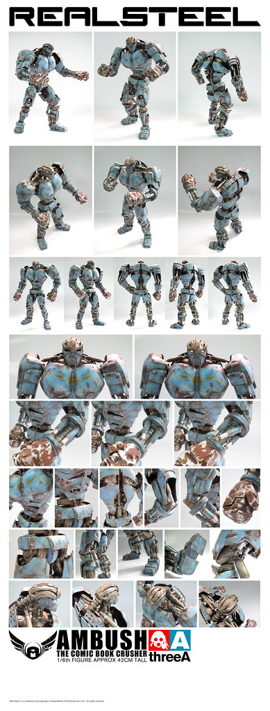 3A x REal Steel AMBUSHRS