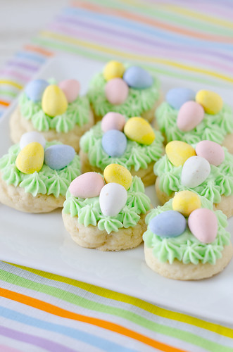 Easter Nest Sugar Cookies 2