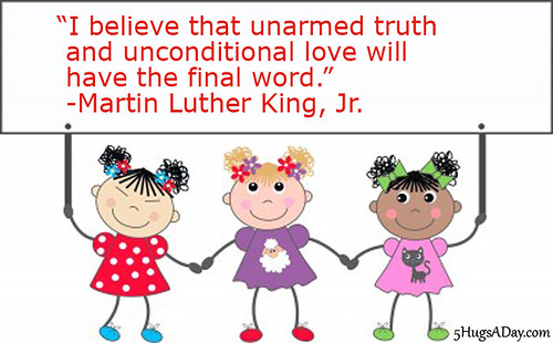 Truth and Unconditional Love via @5hugsaday | 5HugsADay.com