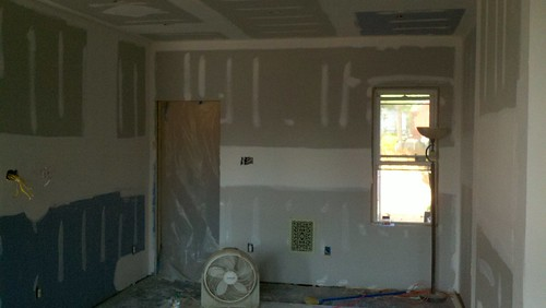 Drywall up 1