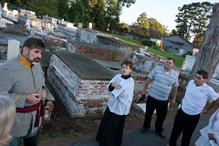 Cemetery Tour Rehearsal - October 06, 2009