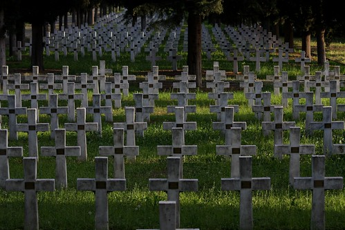 Remembering the dead - WWI cemetery - Thessaloniki, Greece by Teacher Dude's BBQ