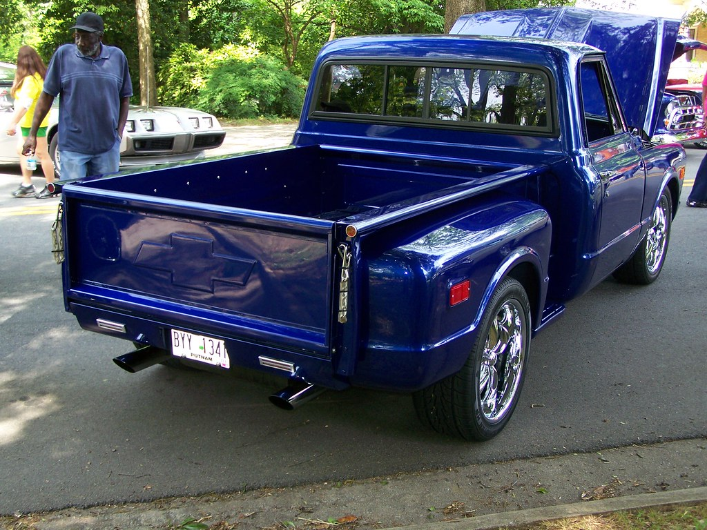 Blue 1968 Chevy C10 1 A Photo On Flickriver Pick Up
