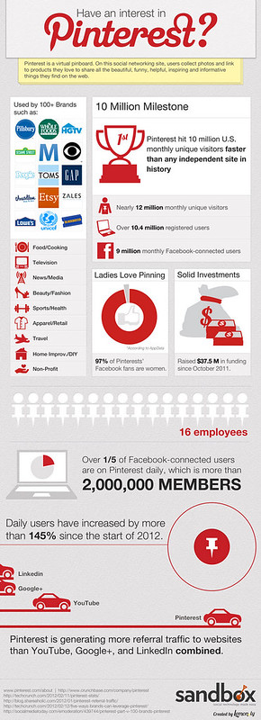 A pinteresting Infographic about Pinterest!