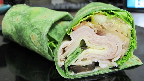 Veggie ranch turkey wrap by Coyoty