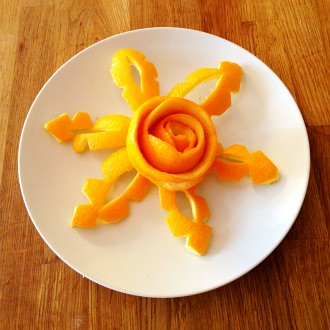 Garnishes For Dinner Plates http://blog.freshdirect.com/2012/04/26/dress-up-your-plate/