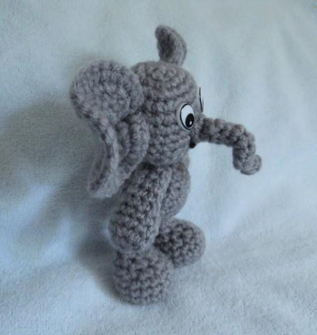 Amigurumi Elephant Knitting Pattern : Amigurumi Elephant (free crochet pattern) Flickr - Photo ...