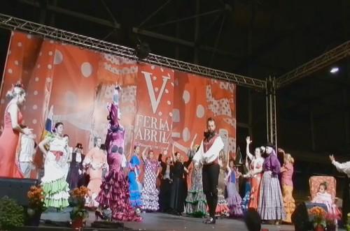 video 03 Gala Clausura Volantes de Compas V Feria Abril Las Palmas de Gran Canaria 2012