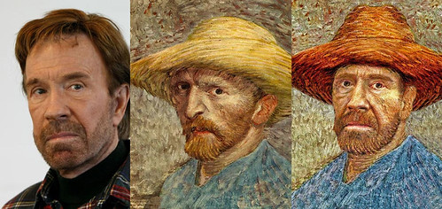 Chuck van Gogh BEFOREandAFTER
