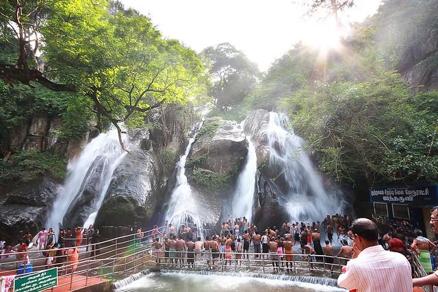 Five Falls, Kutralam, Tamil Nadu, India