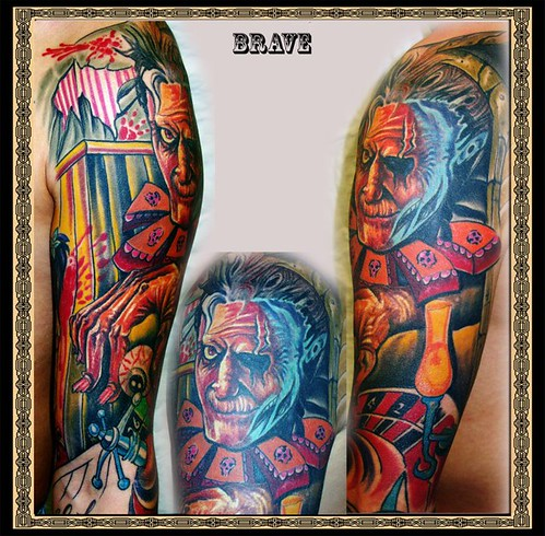 Tattoo by Brave