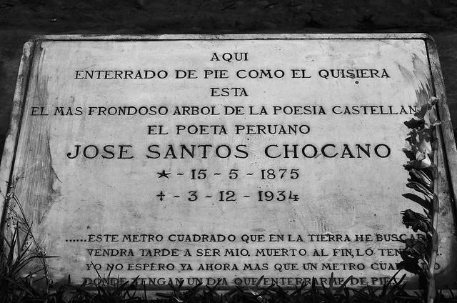 José Santos Chocano.