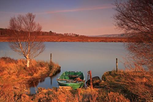 Lochan Na Curra Boat.