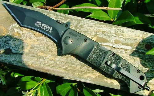 "BokerPlus Reality-Based Blade Tactical Folder with 3-7/8"" Plain Blade"