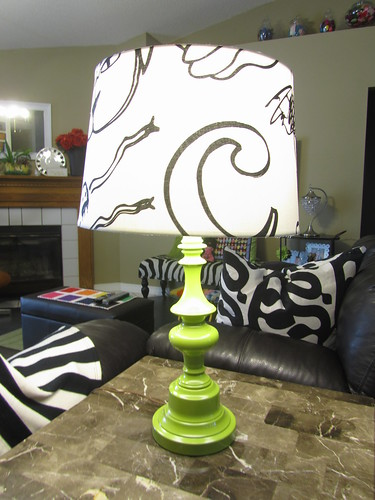 DIY renew a lamp