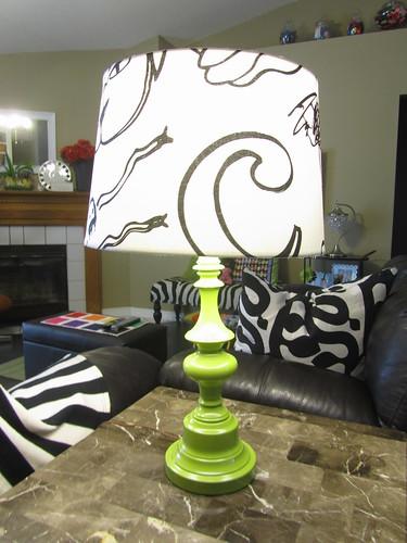DIY renew a lamp
