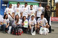 Juniorský maraton vystavil první jízdenky do Prahy