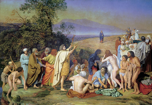 Alexander Ivanov - Appearance of Christ Before the People [1837-57] by Gandalf's Gallery