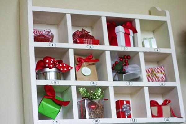 12 days of christmas shelf copy