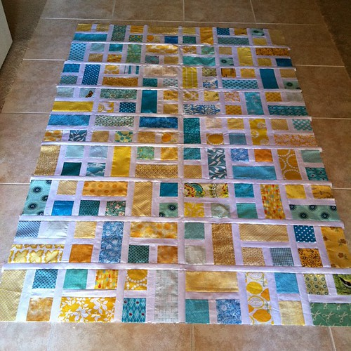 do. Good Stitches quilt top pieced.