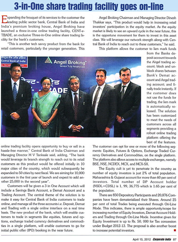 Corporate India, Pg 87, Dinesh Thakkar